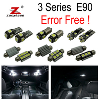14pc X Error Free E90 LED Interior Light Kit For Bmw E90 325i 328i 330i 335i