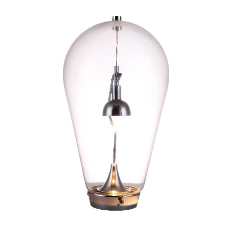 Coup moderne Lampe de Table Moderne Aimant Lampes De Table En Verre gravitationnelle chambre Lumière Conçu par Pio et Tito Toso