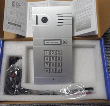 Hot New 3G 4G/ WiFi IP intercom system two-way intercom and remotely unlock door, global video door phone Code Keypad