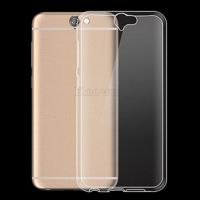 Ультра-Тонкий Мягкий Гель ТПУ Case для HTC One A9S S9 X9 10 A9/M9/E9 Плюс Крышка для Desire 650 628 830 630 825 Ясно Вернуться ТПУ Капа