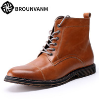 Free Shipping Song For Martin Boots Men Boots Boots Men Fall Rhubarb Men Boots British High