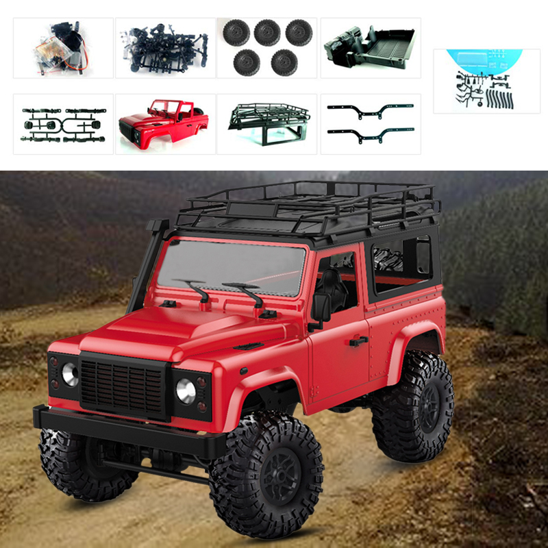 RC Car RC Truck RC Racing KIT DIY 4WD 2.4GHZ Toy Vehicle Off-Road Durable Diy Toy Electric Remote Control Crawler Kids GiftRC Car RC Truck RC Racing KIT DIY 4WD 2.4GHZ Toy Vehicle Off-Road Durable Diy Toy Electric Remote Control Crawler Kids Gift
