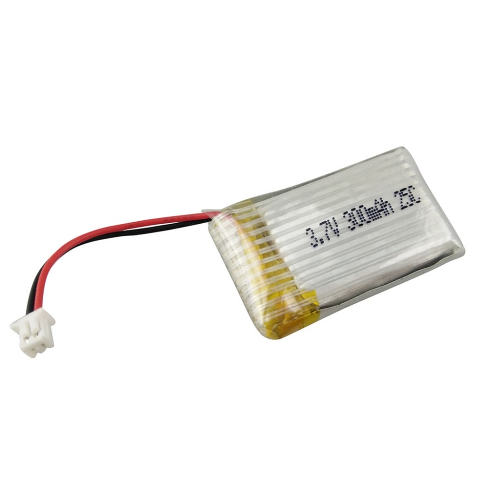2017 New Arrival Rechargeable H8C H8W Mini RC Quadcopter Spare Parts <font><b>3.7V</b></font> <font><b>300mAh</b></font> <font><b>Lipo</b></font> <font><b>Battery</b></font> H8C-006 image