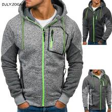 Zogaa 2019 New Fashion Mens Casual Sweatshirt Zipper Slim Hoodies Sweatshirts Pullover Coat Tops Dropshipping