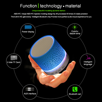 Sound Tube Led Wireless Bluetooth Speaker 1
