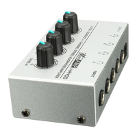 HA400 4 Channel Ultra Compact Headphone Audio Stereo Amp Microamp Amplifier Top Quality