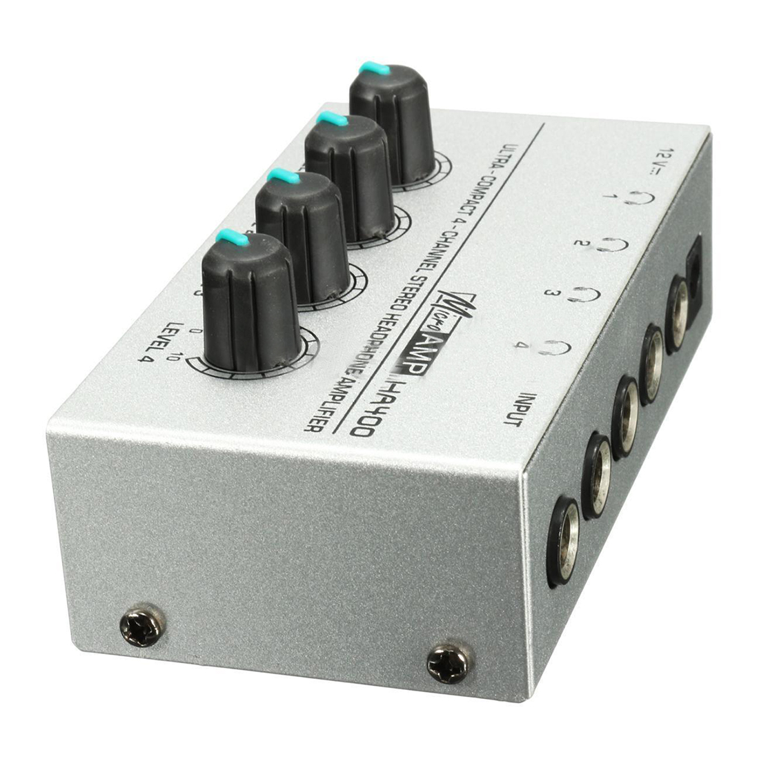 HA400 4 Channel Ultra-compact Headphone Audio Stereo Amp Microamp Amplifier Top Quality цена