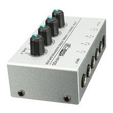 HA400 4 चैनल अल्ट्रा-कॉम्पैक्ट हेडफ़ोन ऑडियो स्टीरियो एएमपी माइक्रोएम्प एम्पलीफायर शीर्ष गुणवत्ता