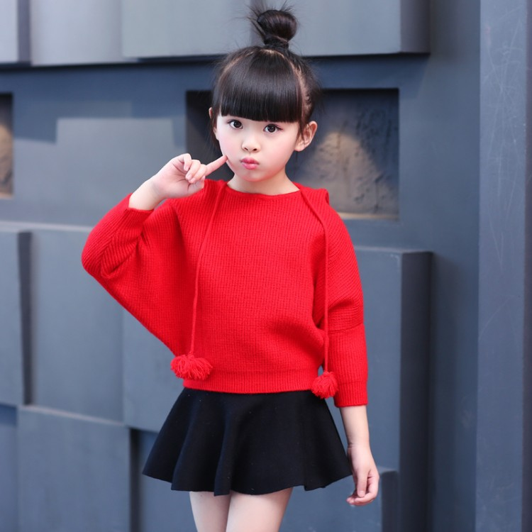 Toddler Girls Clothes Baby Set 2018 Spring Batwing Sleeve Kids Girl Sets Hooded Tops Skirts 2Pcs Sweet Children Clothing 3cs207 newborn toddler girls summer t shirt skirt clothing set kids baby girl denim tops shirt tutu skirts party 3pcs outfits set