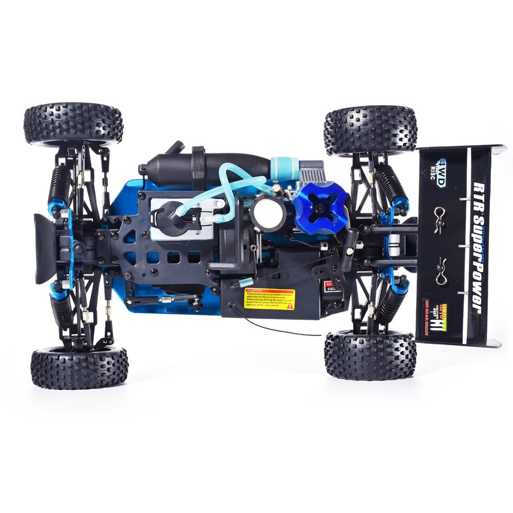 HSP RC Auto 1:10 Bilancia 4wd RC Giocattoli A Due Velocità Off Road Buggy Nitro Gas Power 94106 Testata Ad Alta Velocità hobby di Controllo Remoto Auto - 5