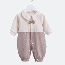 New 2019 Autumn Spring Baby Rompers Clothes Long Sleeves High Quality Newborn Boy Girls Soft Cotton Baby Jumpsuit Baby Clothing i k new spring autumn baby clothes infant rompers thick warm cotton jumpsuit soft pajamas flower pattern long sleeves py25040