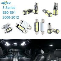 14pcs LED Canbus Interior Lights Kit Package For BMW 3 Series E90 E91 2006 2012