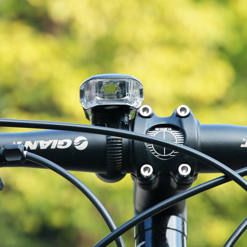 Bicicleta Inteligente Inteligente Recargable USB Lámpara Frontal Head Light Bike