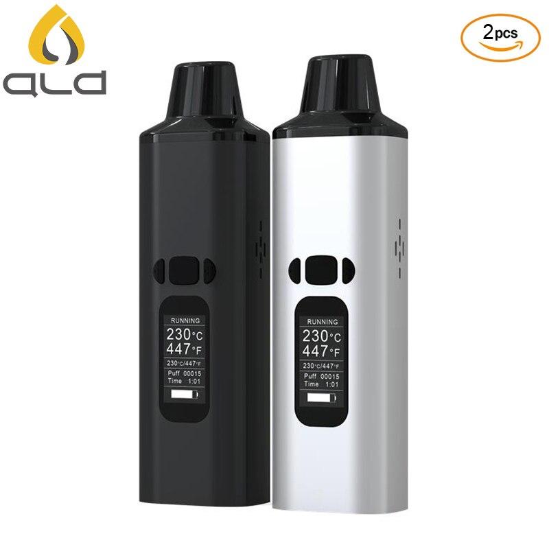 2PCS Original ALD AMAZE Dry Herb Vaporizer Kit Herbal electronic e cigarette vape pen 0 96
