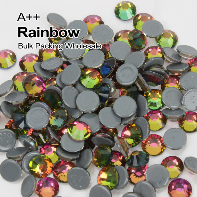 Hotfix Rhinestones Crystal Rainbow SS6-SS30 High quality Rhinestone Bulk  Packing Wholesale 93feafdcd7b7