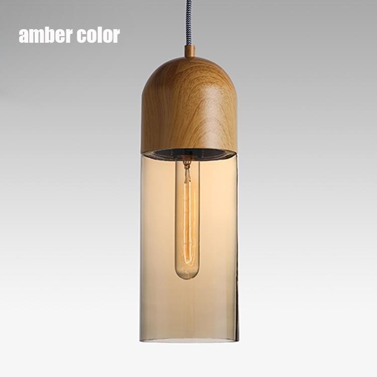 Moderne Kurze Mode Vintage Amerikanische Land Retro Klarglas Edison ...