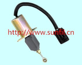 ФОТО Diesel Engine Stop Solenoid 3939019 SA-4889-24 24Volt  6CT 5.9L free shipping