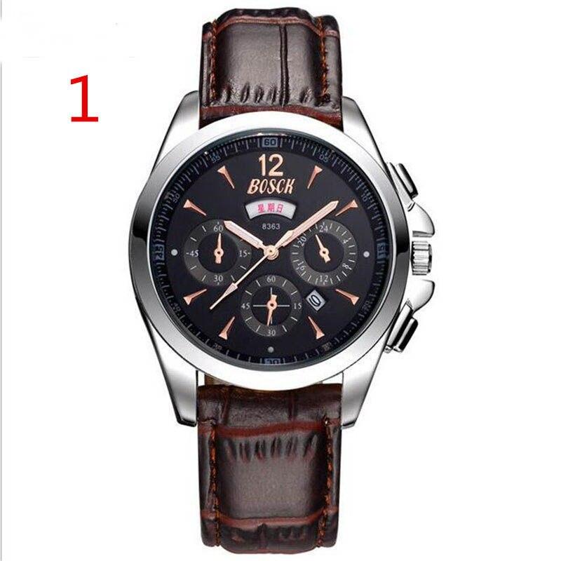 Montre ceinture montre quartz course secondes montre passion mode mouvement 545 #