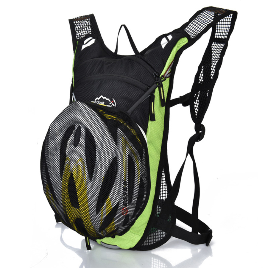 12L Moutain Road Backpack Waterproof Cycling Hydration Bag Outdoor Travel Running Sport Rucksacks Cycling Backpack Bicycle Bag