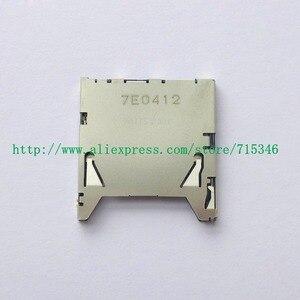 Image 1 - Nueva ranura para tarjeta de memoria SD para Nikon D5500 D5600 pieza de reparación para cámara digital