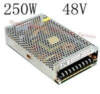 DIANQI power supply 250w 48V 5A power suply 48v 250w ac to dc power supply unit ac dc converter high quality S-250-48