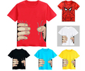 2015 New children's clothing summer male boys girls cartoon casual short-sleeve top fashion kids cotton short sleeve t-shirt