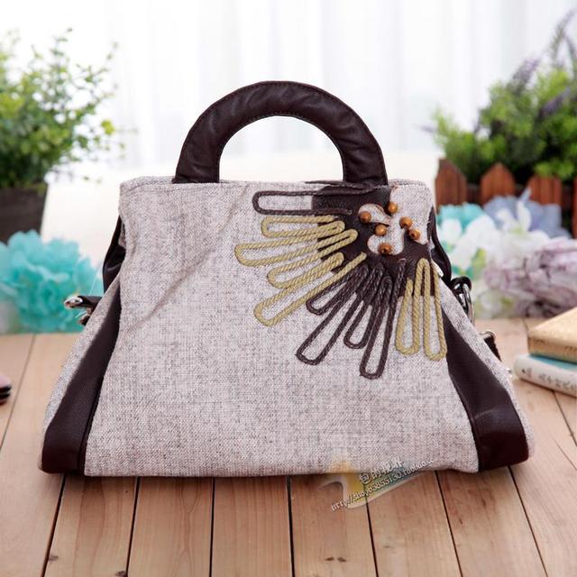 f67acb10c332 native hand-made folk cloth handbags new national air bags hand woven bag  Messenger bag small handbag dual-use package 1495