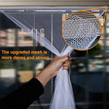 3 stks DIY Flyscreen Gordijn Insect Fly Mosquito Insect Window Klamboe Mesh Screen Met 3 Rolls zelfklevende tape JL20(China)