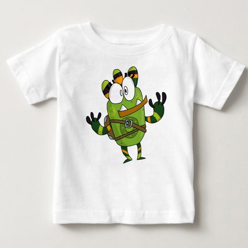 qumiqumi children T Shirt 2018 Summer baby Tshirt Costume infant Best Sellers Lovely boy and girl Favourite cartoon T-shirt MJ