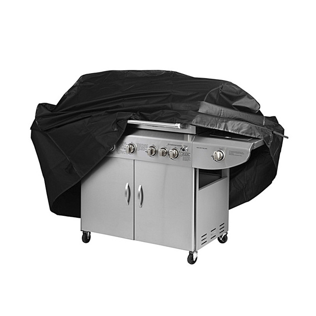 """68"""" X 24.4""""X 46.8"""" Black Waterproof Bbq Cover Outdoor Rain Barbecue Grill Protector For Gas Charcoal Electric Barbeque Grill"""