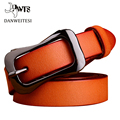 [DWTS]2016 new style ladies fine pure leather fashion belt all-match decorative pin buckle minimalist new genuine wide tide belt