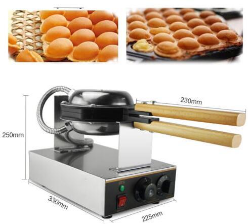 110V Electric Egg cake oven QQ Egg Waffle Maker egg waffle machine110V Electric Egg cake oven QQ Egg Waffle Maker egg waffle machine