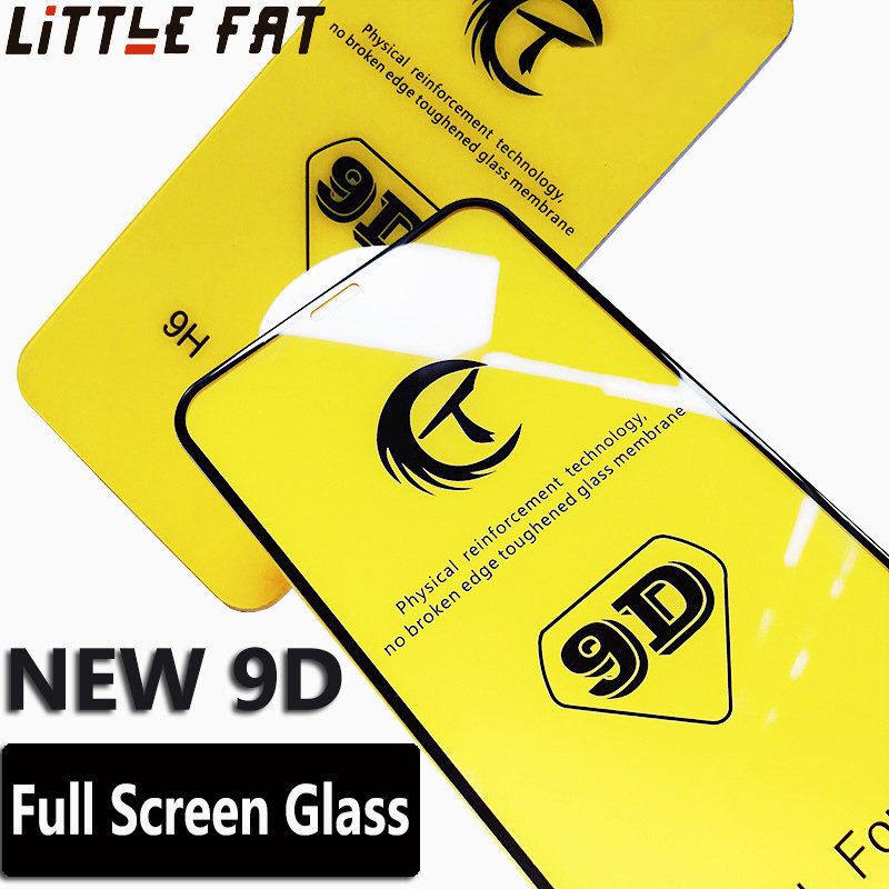 9D Full Cover Edge Tempered Glass For iPhone 7 8 6Plus X XS XR XSMAX Screen Protector For <font><b>iPhone6S</b></font> 7 8Plus Glass Protection <font><b>Film</b></font> image