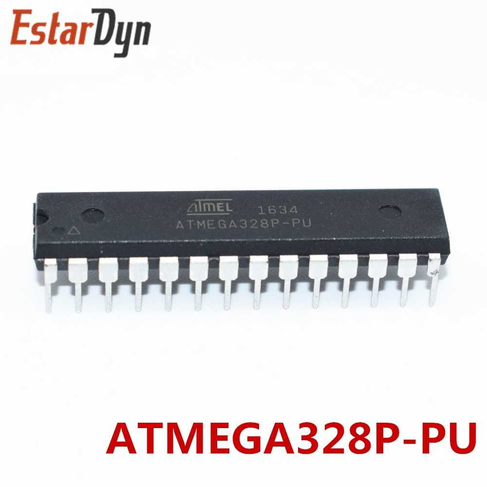 "1PCS ATMEGA328P-PU שבב ATMEGA328 מיקרו MCU AVR 32K 20MHz FLASH DIP-28 מח""ש"