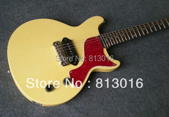 TOP quality  Wholesale Musical Instrument electric guitar Junior Reissue VOS cream white color ! (Free shipping) !