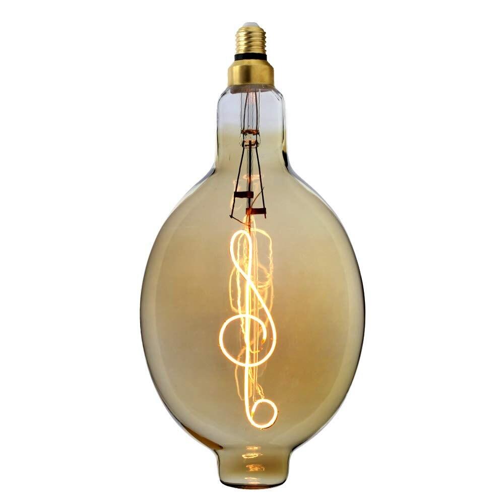 TIANFAN ampoule Led ampoule Vintage grande Edison ampoule Led Filament 4 W AC85-265V E27 ampoule décorative Note de musique BT180