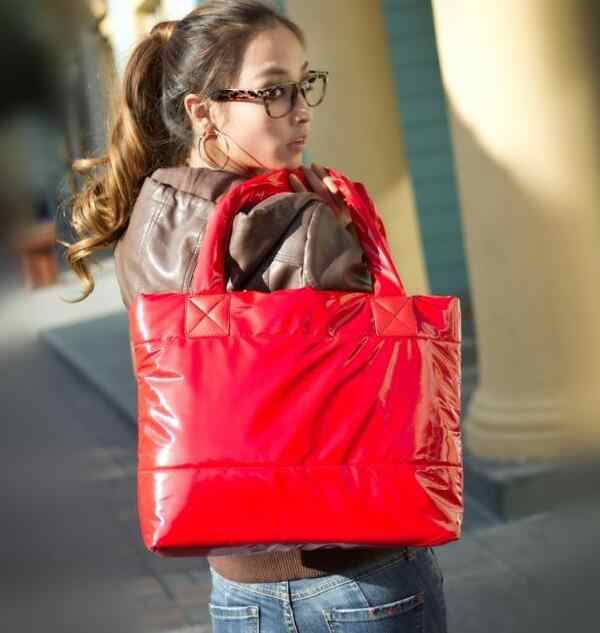 Musim Gugur dan Musim Dingin Moldbaby Baru Padded Katun Jaket Tas Fashion Leisure Shoulder Bag