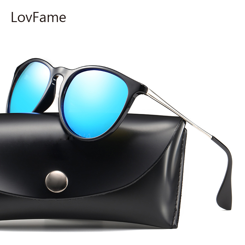 lovesun Store Lovfame Men Women Couple Sunglasses Suitable Protect 2017 Sun Glasses Female Male HD Men UV400 Universal Men