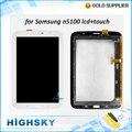 Полный оригинальные запасные части для Samsung Galaxy Note 8.0 N5100 ЖК-экран с сенсорной дигитайзер 1 шт. бесплатная доставка