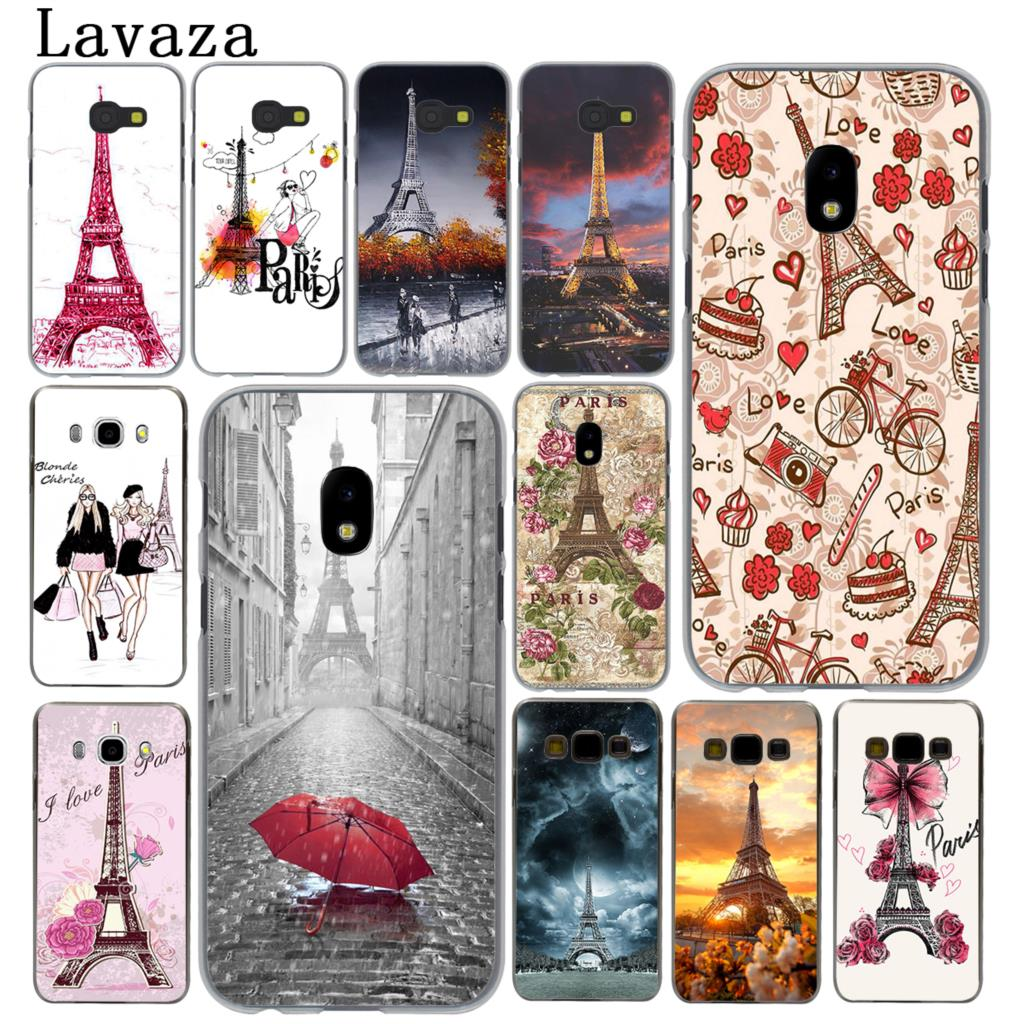 Lavaza France Paris the Eiffel Tower fashion Hard Phone Case for Samsung Galaxy J5 J1 J2 J3 J7 2017 2016 2015 2018 J3 J5 Prime