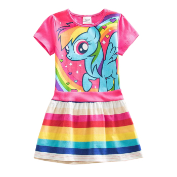 Unicorn Rainbow Casual Dress