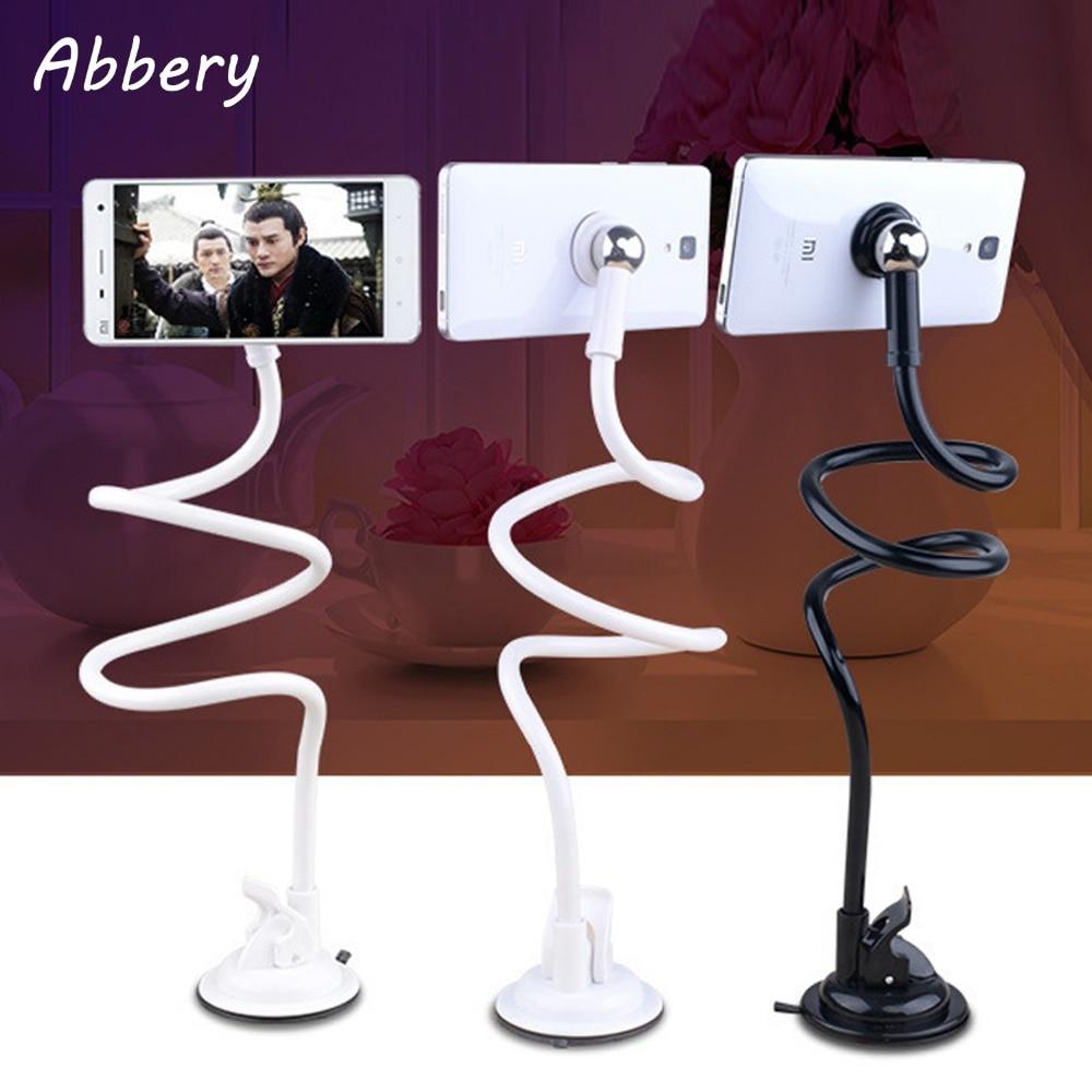 Abbery Updated 360 Degree Flexible Arm Tablet Phone Holder Lazy People Bed Desktop Magnetic Mount Holder For Mobile Phone Tablet