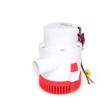 Büyük akış dc 12 v 24 v sintine pompası 3700GPH elektrikli su pompası tekne aksesuarları için marin, dalgıç tekne su pompası 3700 12 24 v