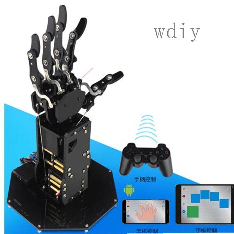 Bionique manipulateur 5 doigt robot doigt 5 degrés de liberté pince robot main bras