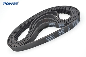 Image 4 - POWGE Arc HTD 5M Timing belt C=490/495/500/505 width 15/20/25mm Teeth 98 99 100 101 HTD5M synchronous Belt 490 5M 495 5M 500 5M
