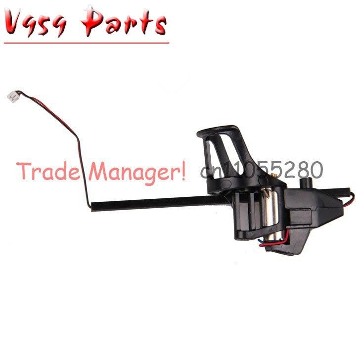 Free shipping V959 V212 V222 Clockwise Motor Set kit For WL toys RC Helicopter Spare Parts Brand-new v959 parts
