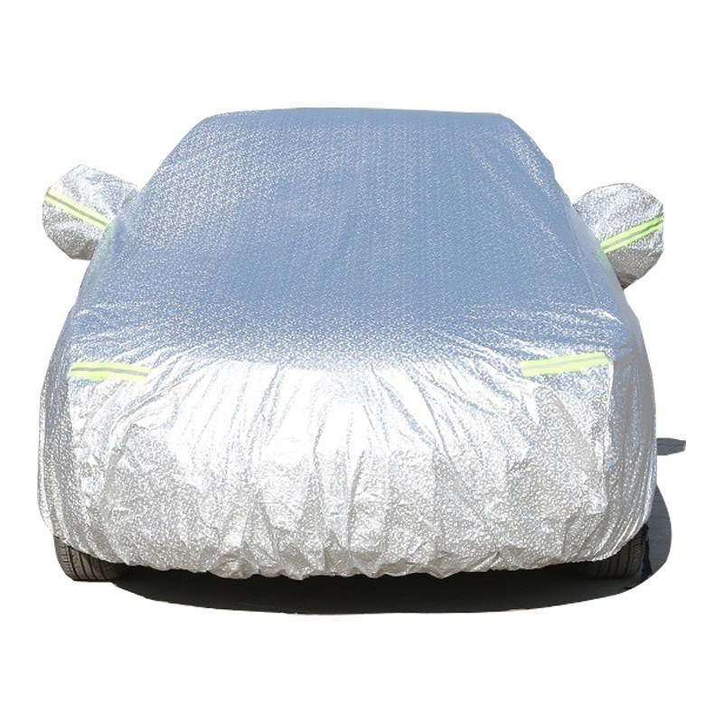 Image 4 - Car Cover Anti UV Sun Snow Rain Protection Scratch Resistant For Audi Q2L Q3 Q5 Q5L Q7 With Side Opening Zipper Anti theft-in Car Covers from Automobiles & Motorcycles