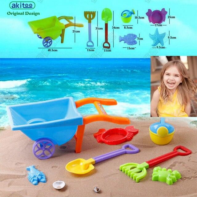 Carros de Kindergarten juguete de la playa juego de los niños ...