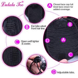 Image 3 - 巾着アフロパフ変態カーリーポニーテール人工毛パンシニョンかつら女性のためのアップクリップヘアエクステンション