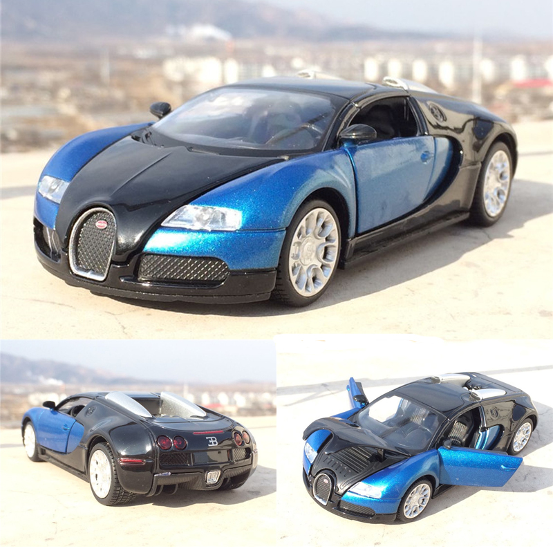 1:32 Scale Bugatti Veyron Alloy Diecast Car Model Pull Back Toy Cars Electronic Car With Flashing Kids Toys Gift Free Shipping ...